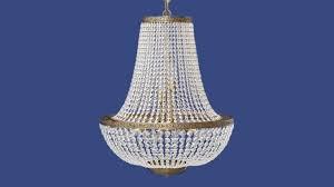 empire antique brass chandelier