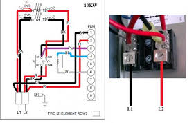 wiring to heat strip for heat pump system doityourself com attached images
