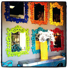 diy painted mirror frame. Paint Wooden Mirror Frame Silver Spray Wood . Diy Painted P