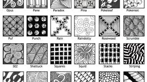 Zentangle Pattern Awesome 48 Collection of Zentangle Drawing Patterns High quality free