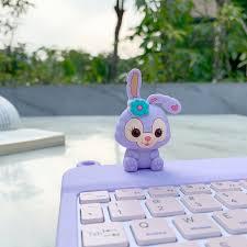 Ốp Lưng Silicone Bảo Vệ Bàn Phím 3d Đáng Yêu Cho 2019ipad7 Air310.5 Mini5  7.9 9.7 8.0 10.1 Inch - Bàn phím chơi game