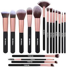 bs mall makeup brushes premium synthetic foundation powder concealers eye shadow brush sets