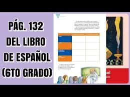 Paco el chato tareas sexto grado geografia by markmispz issuu : Pag 132 Del Libro De Espanol Sexto Grado Youtube