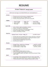 Massage Therapist Resume Sample Resumes Work Pinterest Sample