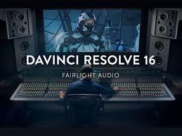 Blackmagic Design Sound Blackmagic Design Announces Davinci Resolve 16 With Much