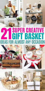 Make them simple (and super affordable) or add the optional ideas to jazz them up a bit. 21 Diy Gift Baskets That Are Perfect For Any Occasion