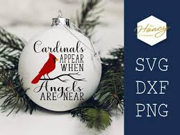 Can also be used as clipart. Cardinals Appear When Angels Are Near Christmas Svg Png Dxf Etsy In 2020 Christmas Svg Svg Files For Cricut Free Design Software