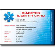 Cards Plastic Id amp; Allergies - Conditions Medical For Other