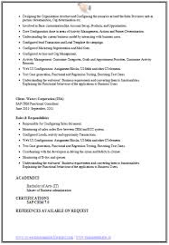 over 10000 cv and with free download sample sap resume sap sample resumes