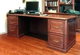 office desk solid wood. Executive Office Desk Accessories Wooden Solid Wood O