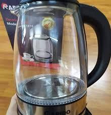 Giá bán | [Shop chính hãng LEBENLANG] Ấm đun nước siêu tốc bằng thủy tinh  gồm lõi pha trà LBE2819 từ thương hiệu LEBENLANG của Đúc