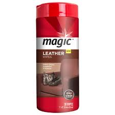 magic leather cleaning wipes