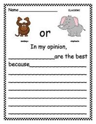 pets opinion writing opinion writing kindergarten and school zoo animals opinion writing