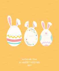 Easter Template T Shirt Design Template With Cute Easter Egg Graphics 1040 F