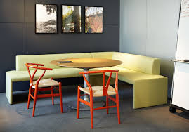 Dining Curved Bench Sit Canton Room Breakfast Table With Sofa ...
