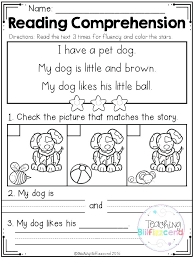 Reading Comprehension Worksheets About In Christmas For 2nd Grade ...