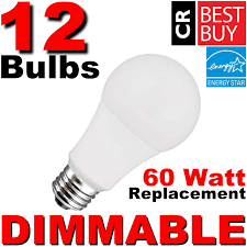 60 Watt Light Bulbs For Sale Case Of 12 Dimmable 60w Led Soft White A19 Consumer