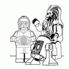 Lego Star Wars Kleurplaten Leuk Voor Kids