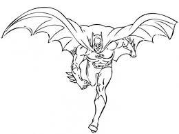 Batman Che Corre Da Colorare Cose Per Crescere