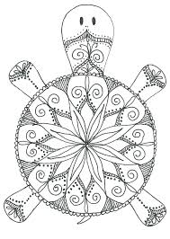 It features a horse and a duck grazing the field. Animal Mandala Coloring Pages Best Coloring Pages For Kids