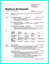 Resume Best Resume Format For Freshers World Elegant Template In