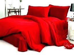 Red And Black Comforter Queen Black Comforter Set Queen Medium Size ...