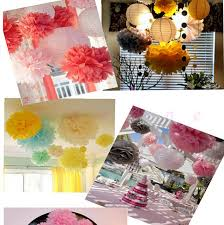 Tissue Balls Party Decorations 100 Colors avaiable Tissue paper pompom rose baby shower wall 40