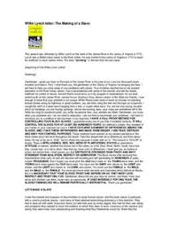 william lynch letter willie lynch letter the making of a slave pdf drive