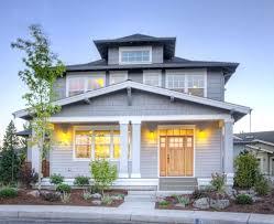 modern foursquare house plans foursquare style house plan bend modern american foursquare house plans