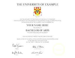 Bachelor Degree Template Free Full Size Of Large Medium For Resume