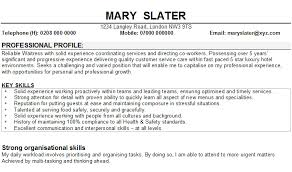 Personal Resume Examples Waitress - Kleo.beachfix.co