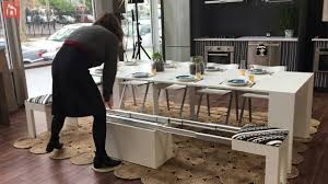 expandable stool you can turn into a bench in a jiffy home decorating trends homedit