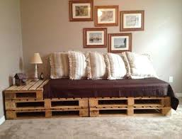 pallet bed view in gallery pallet bed construction pallet swing bed with back instructions