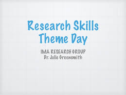 research skills reading and writing in computer science  writing in computer science research skills theme day ima research group dr julie greensmith