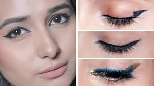 everyday eyeliner tutorial for beginners quick and easy makeup look tips by glamrs