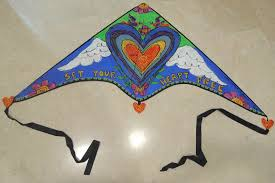 How To Make Designer Kite Kite Flying Around The World 3 How To Make Paint Your