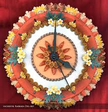 Small Picture 32 best Quilling Clocks images on Pinterest Quilling ideas