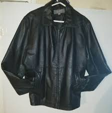 wilsons leather jacket medum rn 69426 100 genuine 400
