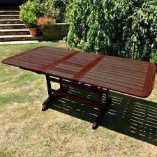 garden tables erfly extending rectangular garden table garden table cover argos