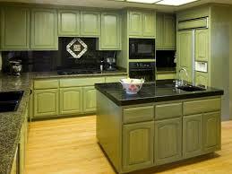 Kitchen:Astounding Small Kitchen With Minimalist Style Also Warm Green Color  Scheme Astounding Small Kitchen