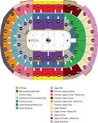 sap center seating map  my blog