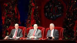 First Presidency's Christmas Devotional Celebrates the Birth of ...