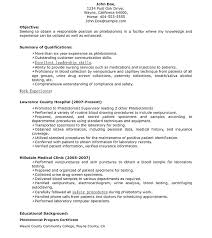 Entry Level Resume Objective Awesome 4224 Entry Level Phlebotomy Resume Entry Level Resume Lovely Sample