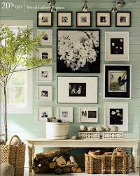 Decorating with photography.