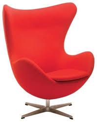 modern accent chairs. Nuevo Living HGEM232 Bolero Lounge Chair - Red Modern Accent Chairs