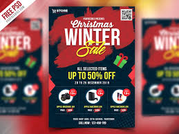 Free For Sale Flyer Template Free Christmas Sale Flyer Template Psd Download Psd