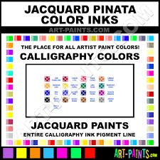Pinata Ink Color Chart Sunbright Yellow Pinata Colors Calligraphy Ink Paints And