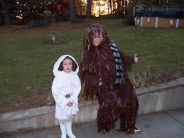 princess leia chewbacca costumes homemade