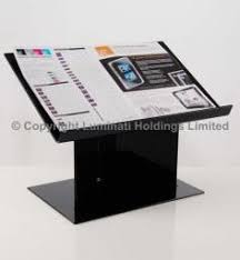 Photo Album Display Stand Display Case With Small Compartments Ideal For Fishing Tackle 9