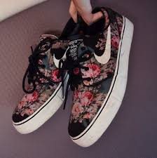 Nike Pattern Shoes Fascinating NIKE FLOWER PATTERN SHOES On The Hunt